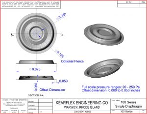100 Series Single Diaphragm