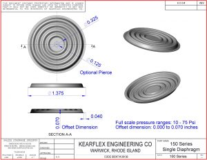 150 Series Single Diaphragm
