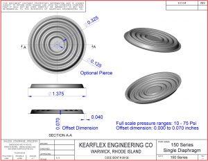 150 Series Single Diaphragm