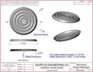 250 Series Single Diaphragm