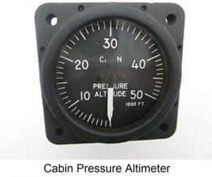 Cabin Pressure Altimeter