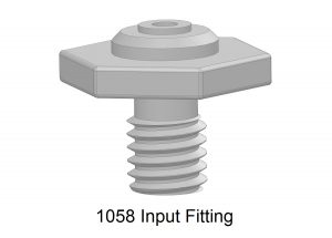 1058 Input Fitting